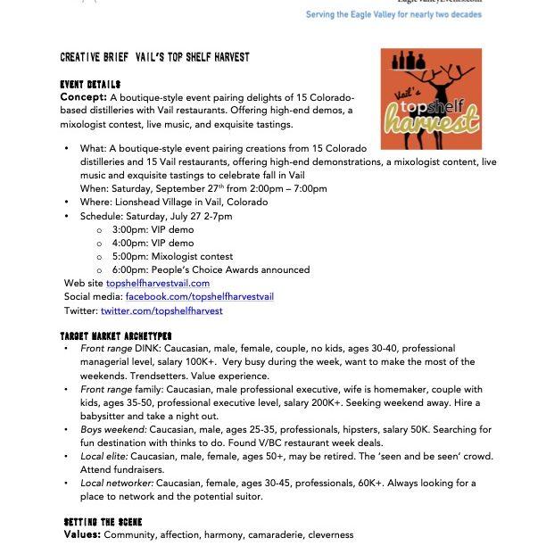 2014 Callosum TSH Creative Brief